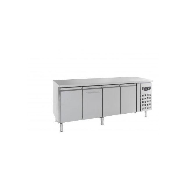 Combisteel Table réfrigérée 700 positive - 4 portes 700