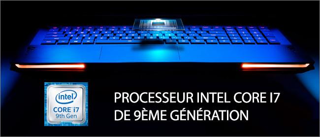 Aorus 17 - Processeur Intel Core i7 9th