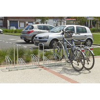 Mottez - Râtelier sur 2 niveaux cote à cote pour 6 vélos M024V6AR