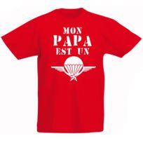e51ba738131e3 Stylx Design - T-shirt enfant humoristique rouge