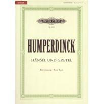 Edition Peters - Partitions Classique Humperdinck Englebert - Hänsel Und Gretel - Voice And Piano par 10 Minimum, Choeur Et Ensemble Vocal