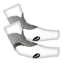 Medilast - Manchettes d'athlétisme Nrg blanc et noir