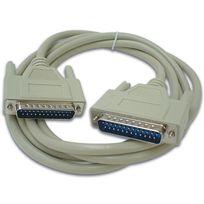 Computer Connectors - Cordon Seriel Subd25 Male - Subd25 Male / 2M