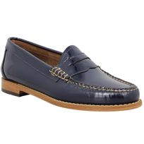 Bass Weejuns - Gh Bass & Co Weejun Penny Wheel vernis Femme-39-Navy