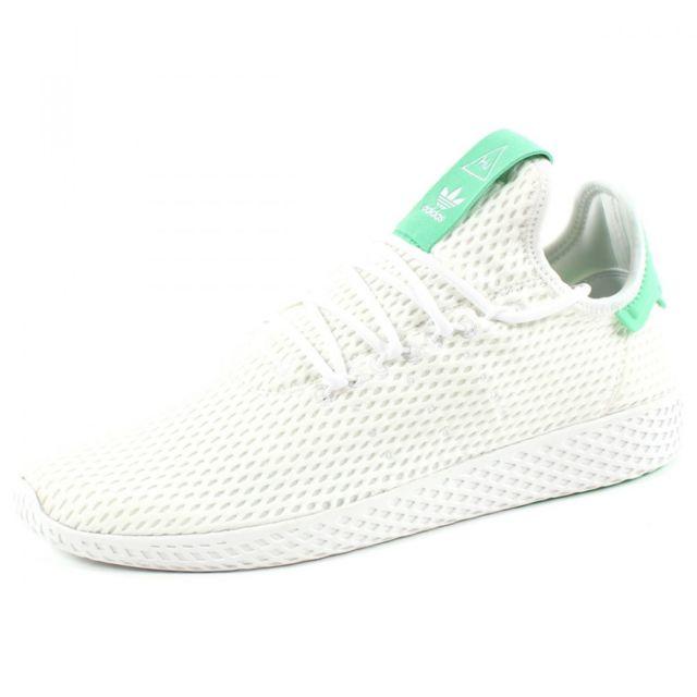 Adidas originals - Baskets Pharrell Williams Tennis Hu Blanc ...