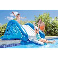 INTEX - Toboggan gonflable pour piscine enterrée