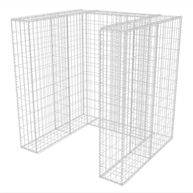 G/én/érique Cache pour Colonne de cl/ôture en Fer carr/é 100 x 100 mm
