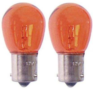 adnauto 2 ampoules ba15s 12v 21w eclairage orange pas cher achat vente ampoule auto. Black Bedroom Furniture Sets. Home Design Ideas
