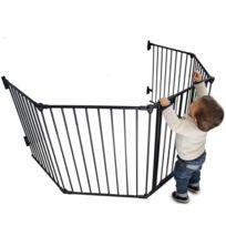 MONSIEUR BEBE - Barrière ou parc de sécurité et cheminée enfant 310cm 5 côtés