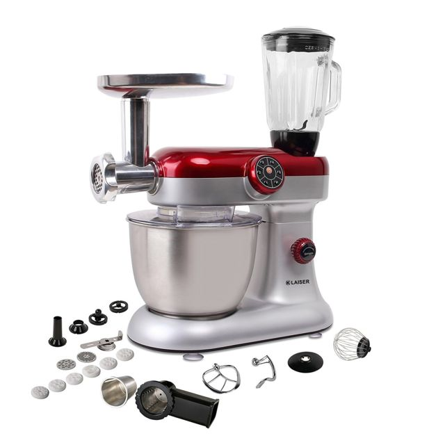 KLAISER Robot Pétrin Pâtisser Multifonctions KITCHEN MIX KM284MEX PROFESSIONAL
