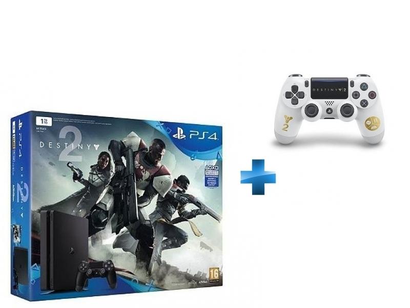 Pack PS4 1 To Black + Destiny 2 + Dual Shock Destiny 2 - PS4