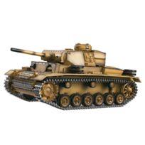 Taigen - Char RC 1/16 Panther III Metal complet son et fumée