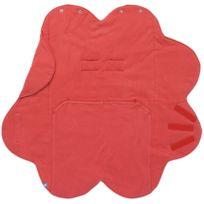 Wallaboo - couverture fleur été rouge
