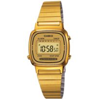 Casio - Promo Montre Acier Collection La670WEGA-9EF - Femme