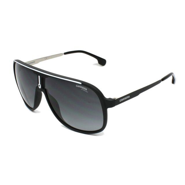 Carrera - Lunettes de soleil 1007-S 003 9O Femme Noir - pas cher Achat   Vente  Lunettes Tendance - RueDuCommerce 096819ada4d7