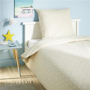 tex home parure housse de couette etoile 1 taie d. Black Bedroom Furniture Sets. Home Design Ideas