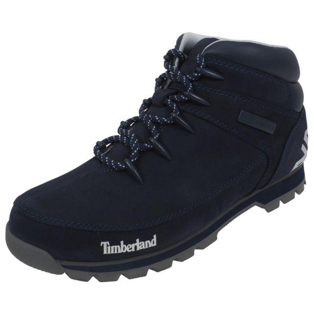 Timberland - Chaussures montantes Euro sprint navy/b nubuck Bleu 40404 41 1/2