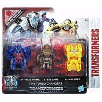TRANSFORMERS - Pack de 3 figurines Tiny Turbo Changers - C2038