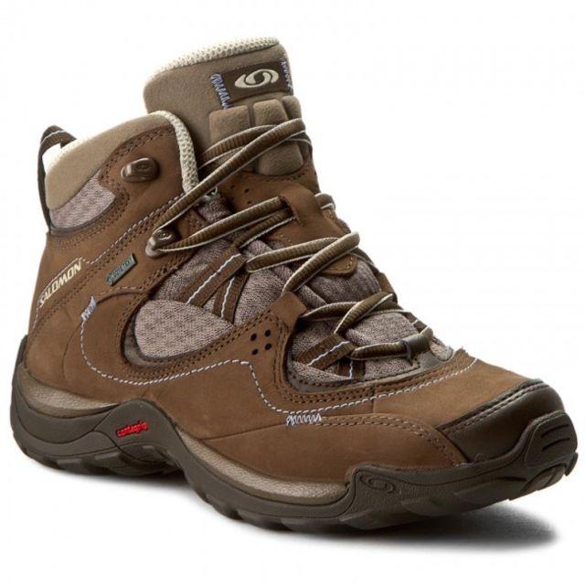 Salomon Elios Mid Gtx 3 W Chaussures de Randonnée femme