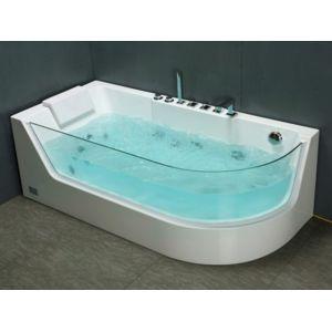 Marque generique baignoire baln o vitr e aria 1 place Baignoire marque