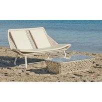 Hevea Jardin - Ensemble table et chaises de jardin marina 8