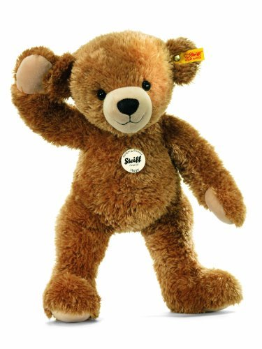 12662 Peluche Ours Teddy Happy Brun Clair