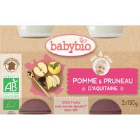 Babybio - Pots Pomme Pruneau dés 4 mois