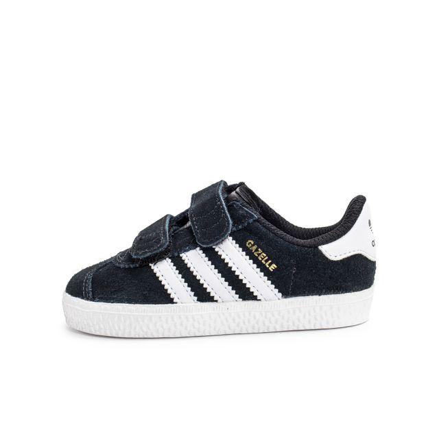Adidas originals - Gazelle 2 Cf Bébé Noire 21 - pas cher Achat / Vente Chaussures, chaussons - RueDuCommerce