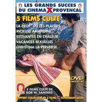 Blue One - La prof ou les plaisirs defendus, Vicieuse Amandine, Estivantes en chaleur, Vacances sexuelles, Christina la perverse 5 films cultes