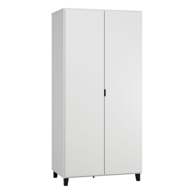 Vox Armoire 2 portes Simple - Blanc
