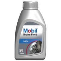 Mobil - Liquide de Frein Brake Fluid Dot 4 - Bidon de 500 ml