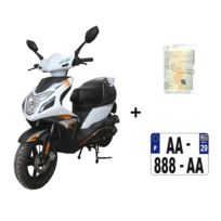 Eurocka - Scooter Cka R8 Euro4 50cc 4T +IMMAT