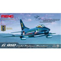 Men model - Maquette avion : Fiat G.91R chasseur bombardier léger italien