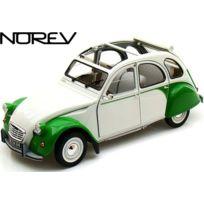 Norev - 181512 - VÉHICULE Miniature - CitroËN 2CV Dolly 1985 - Blanc Vert - Echelle 1:18