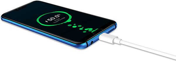 batterie recharge rapide honor 10