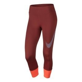 Nike - Collant long Power Running Essential orange femme - pas cher Achat    Vente Collants - RueDuCommerce 122023a6560