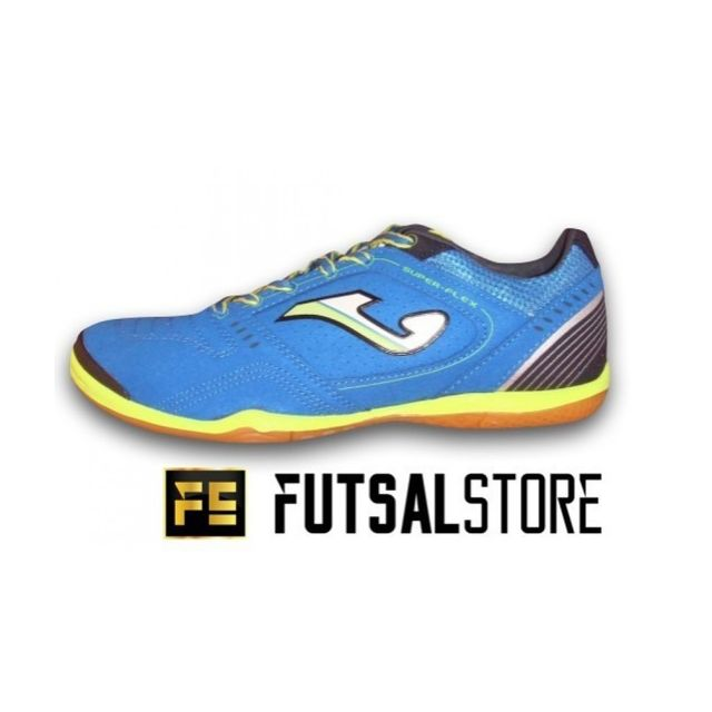 Joma Chaussure de Futsal Super Flex Ic Couleur Bleu