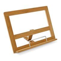 Autre - 44 Porte-recettes Support pour livre de cuisine bambou design 4313006