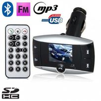 Yonis - Transmetteur Fm voiture Bluetooth Mp3 Usb Carte Sd Jack 3.5mm