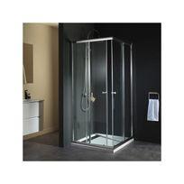 porte douche angle - Achat porte douche angle pas cher - Rue du Commerce 3a3bbd267ffc