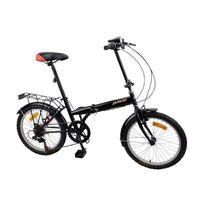 Carrefour - Vélo 20 pliant Noir