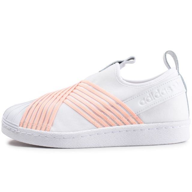 adidas superstar orange femme