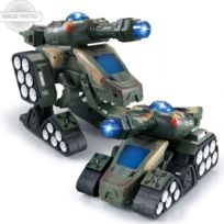 Rc Tank Battle Dinosaure Jouet D'armée Transformer Infrarouge Télécommande tQrBdshCx