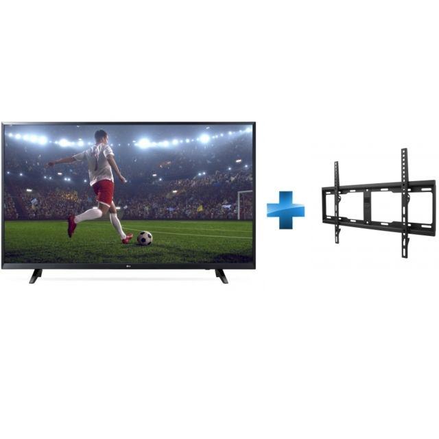 144757007e7 LG TV LED 65   165 cm 65UJ620V + Support mural fixe pour TV de 32 à 84    81-213cm pas cher - Achat   Vente TV LED de 56   à 65   - RueDuCommerce
