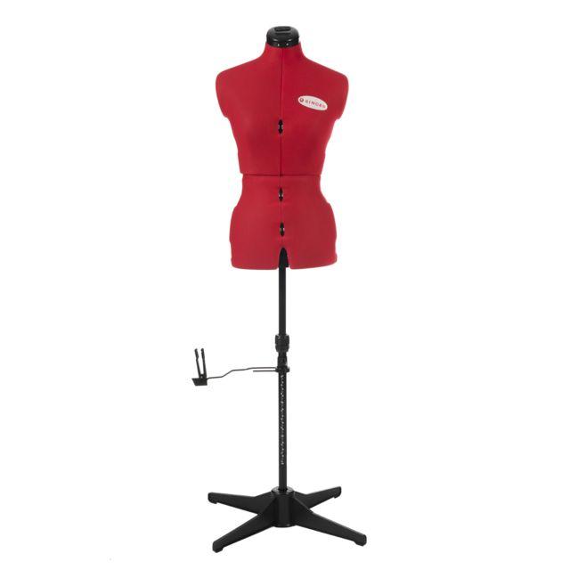 SINGER - Mannequin de couture sur pied buste de couture rég - pas ... 42eca8c89a7d