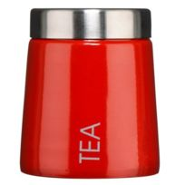 Premier - Housewares Pot à thé conique en émail Rouge Import Grande Bretagne