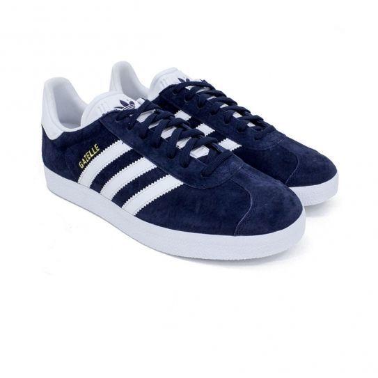 Adidas originals - Chaussures Gazelle Marine e17 Bleu
