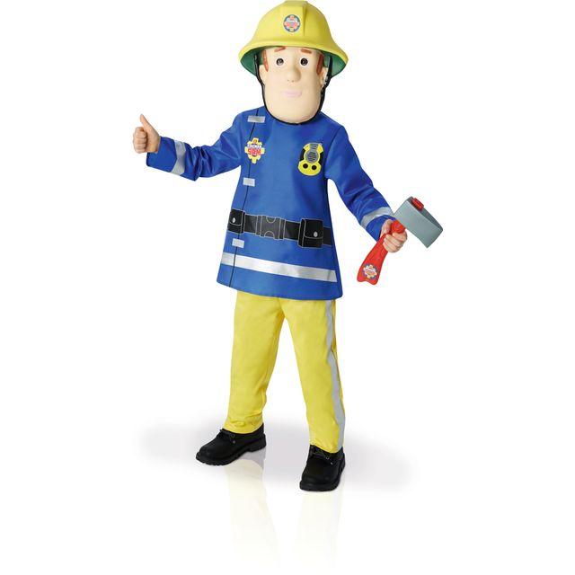 RUBIES Déguisement luxe Sam le Pompier - TS - I-610901S