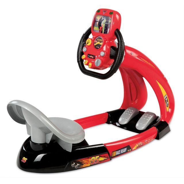 smoby cars 3 simulateur de conduite 370211 pas cher achat vente jouet lectronique. Black Bedroom Furniture Sets. Home Design Ideas