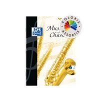 Oxford - Cahier Musique agrafé A4 - 48 Pages - Petits carreaux